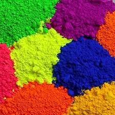 Fluorescent pigments for plastic and polymers