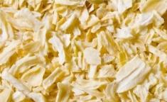 Dried onion. Food