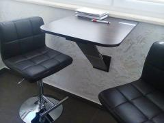 Set office leather