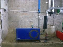 The vacuum pump BVP900 Delaval for farms to 100