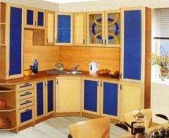 Шкафы кухонные на заказ любой сложности, по