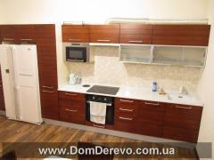 Кухни с пленочными фасадами МДФ, корпус ДСП