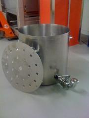 Бак из нержавейки, реактор, емкость из нержавеющей