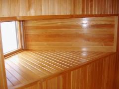 Eurolining (pine), lining wooden facing