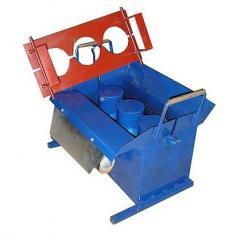 The machine for production of SSh-1v slag stones