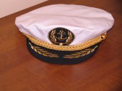 Капитанка , Фуражка сувенирная морская ( речная).