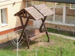 Садовые качели для детей, для подростков на заказ