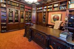 Эксклюзивная мебель для библиотек - изготовление