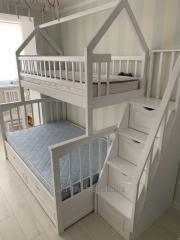 Двухъярусная кровать Щит Плюс-Дом