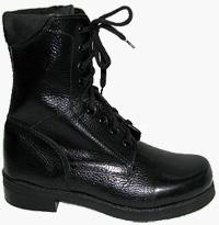Ботинки (берцы) Омон с завышенными кирзовыми