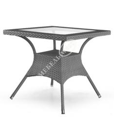 Set of furniture from a rattan, Table Montana