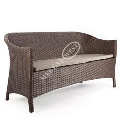 Wicker furniture from a rattan, the Sofa the