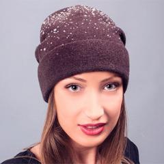 Зимняя женская шапка Shine