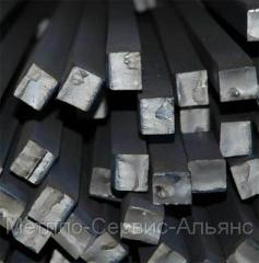 Square steel 20, GOST 1050-88, 2591-88, TU U