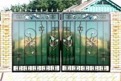 Ворота металлические от производителя.