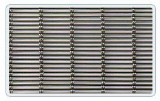 Grid conveyor (conveyor), grid trosikovy