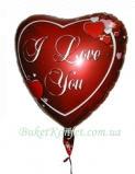 Шарик воздушный I Love You