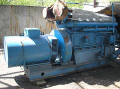 Diesel generator Skoda 6S160