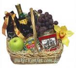 Fruit in a gift baske