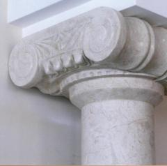 Columns, socles and capitals of columns