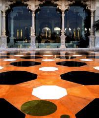 Coverings of floors mosaic (mosaic)