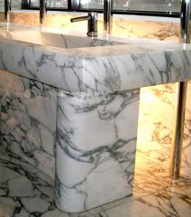 Table-tops from a natural stone
