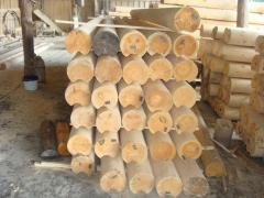 Logs the rounded 160-220 mm