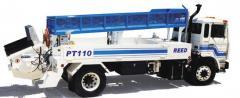 Бетононасос серии РТ - смонтированные на грузовике