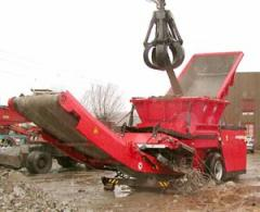 The grinder of SB 750 is intended for crushing of