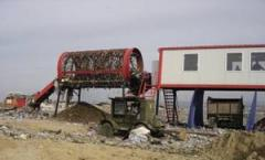 Musorosortirovochnaja linii SL-1, śmieci, urządzenia do obróbki