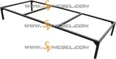 All-welded frame of a single bed of 1900*1000 mm