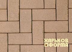 Формы для тротуарной плитки Кирпич шагрень АБС