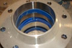Flange vorotnikovy of stainless steel