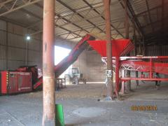 Grinder of logs with a diameter of 600 mm of