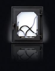 Печные  дверцы Rama  350*405/270*333