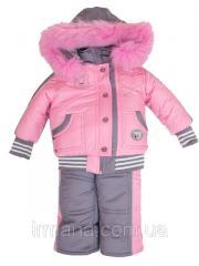 Комбинезон детский зима девочка