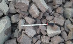 Crushed stone neotbornyj