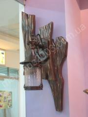 Sconce, semi-antique lamps