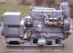 Судовой дизель-генератор на базе дизельного