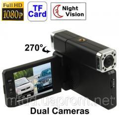 Видеорегистратор DVRX5000 с 2 камерами Full HD