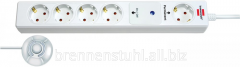Extender of 5 sockets; 4 disconnected, 1 constant;