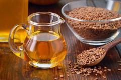 Organic flax oil from Ukraine
