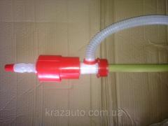 Ручной насос для перекачки дизельного топлива