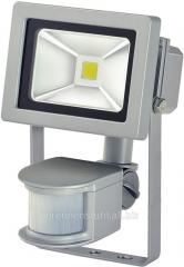 Searchlight LED Chip LED; 10W; IP44; motion sensor