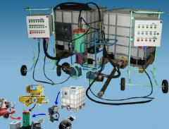 Mini-plant for production of MK-1 Foam Concrete