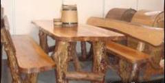 Мебель деревянная садовая,декоративная