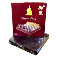 Шахматы Super King доска 45*45см выдвижная