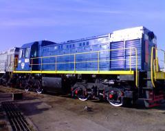 Locomotive of TGM-4 of B, And