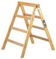 Step-ladder wooden HAB 150
