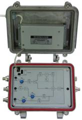 The television converter for the MMDS TVC-100/M